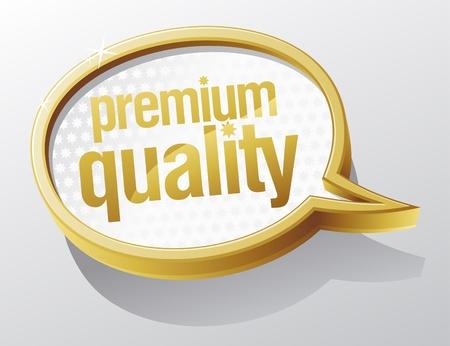 Jakości błyszczące Premium szkła bąblu.