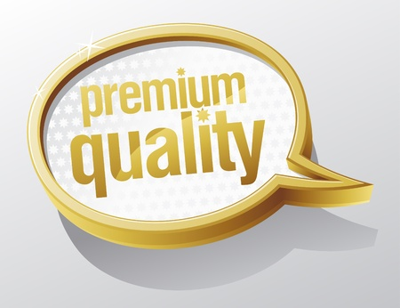 recommended: Premium quality shiny glass speech bubble.