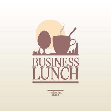 break fast: Business Lunch Menu Card Design template.