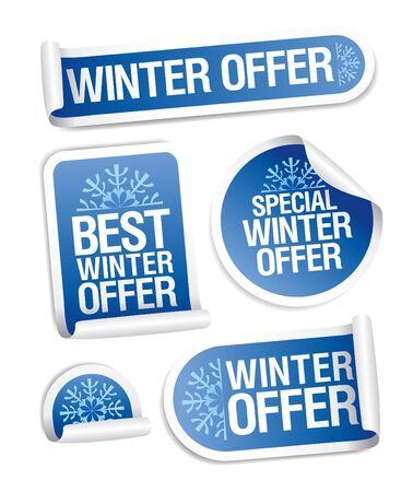 wintermode: In den Wintermonaten bieten Aufkleber.