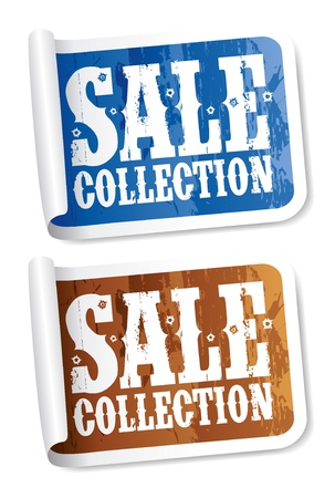 holey: Sale collection tickers set