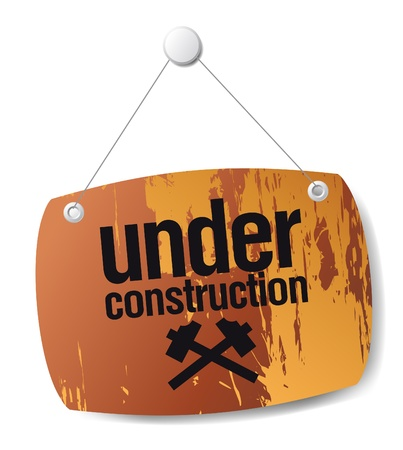 under construction sign Stock Vector - 12230695