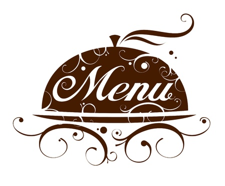 Restaurant-Menü-Card Design-Vorlage. Vektorgrafik