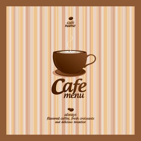 hot chocolate drink: Men� del restaurante de dise�o de tarjetas de plantilla Vectores