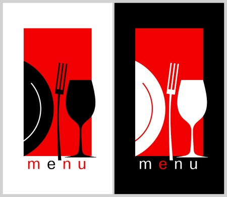 menu card design: Restaurant Menu Card Design template  Long format