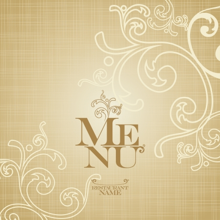 Restaurant Menu Card Design template. Stock Vector - 13716687