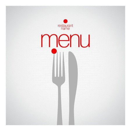 Restaurant Menu Card Design template.  Stock Vector - 13716675