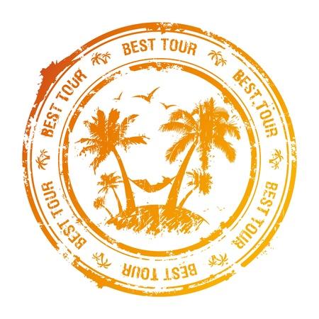 熱帯: 最高のツアー スタンプ トロピカル ビュー
