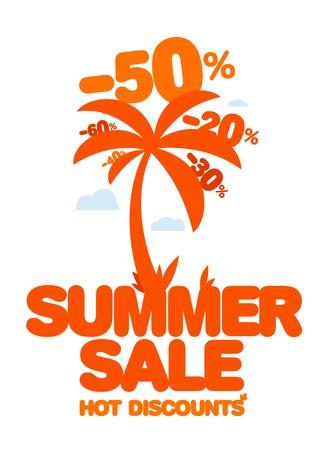 夏季销售设计模板新鲜折扣