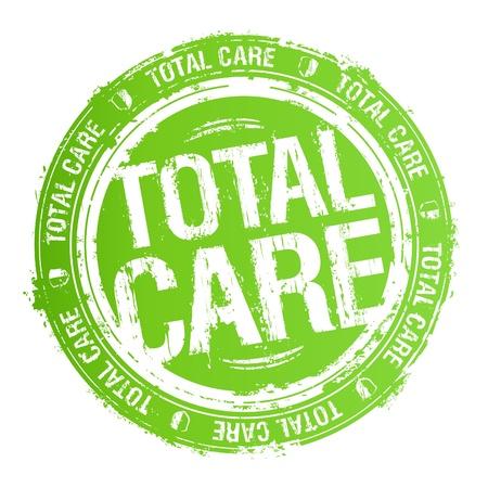totales: Cuidado total sello de goma