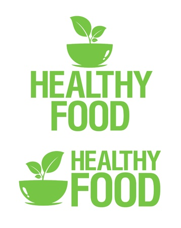 Healthy Food icons set. Stock Vector - 14051332