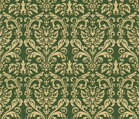 Seamless damask wallpaper background  photo