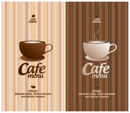 cappuccino: Restaurant Menu Card Design template