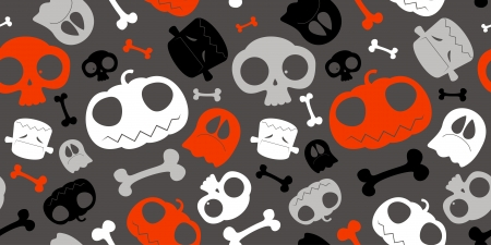Halloween seamless background Stock Vector - 15148426