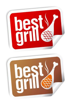 haunch: Best grill food stickers set.