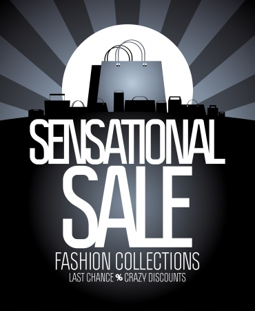 sensational: Sensational sale design template.