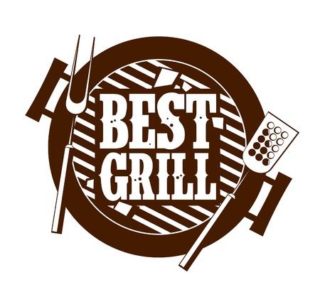 grill meat: Ic�ne meilleur gril.