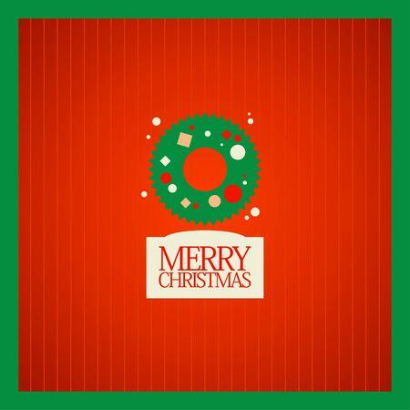 Christmas card design template. Stock Vector - 16219112
