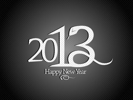 2013 year design template with snake  Stock Vector - 16527815