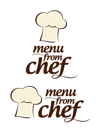Special menu from Chef icons set  Vector