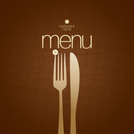 Karta Menu Restauracja szablonu projektu.