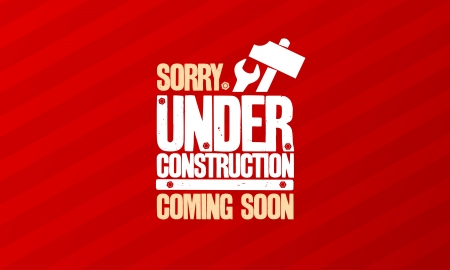 under construction: Under construction design template.