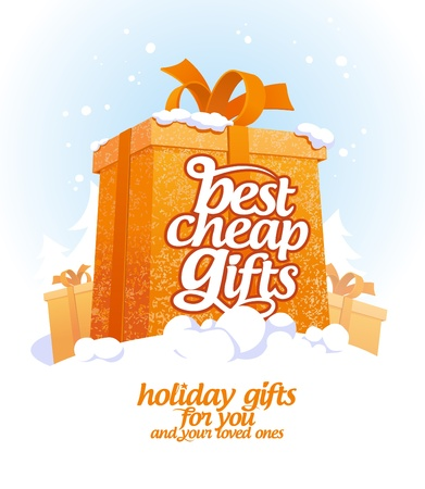 promote: Best cheap gifts design template