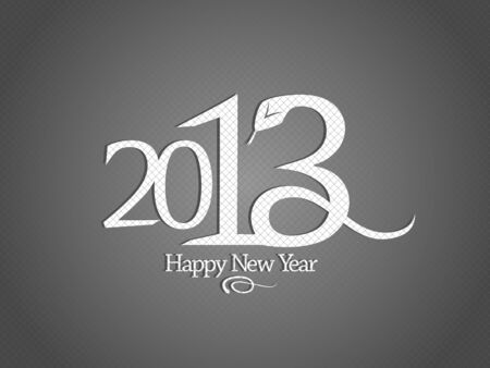 2013 year design template with snake. Stock Vector - 16680733