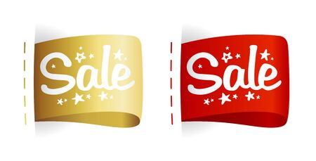 Clothing labels Sale Stock Vector - 16680726