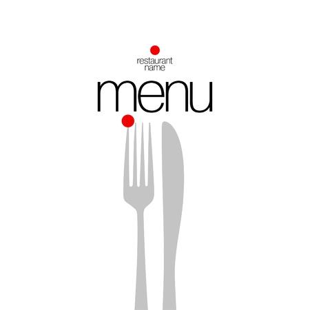 drink menu: Restaurant Menu Card Design template.  Illustration