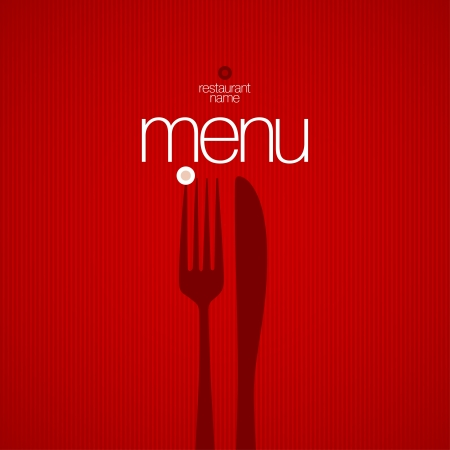 Restaurant Menu Card Design template.  Stock Vector - 17198765