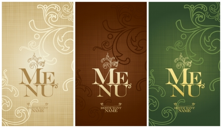 dl: Vintage Restaurant Menu Card Design template   Illustration
