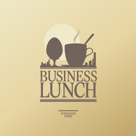 Business Lunch Menu Card Design template. Vector