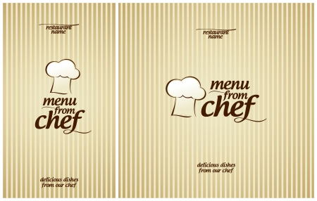 paper delivery person: Special Menu from Chef Design template.