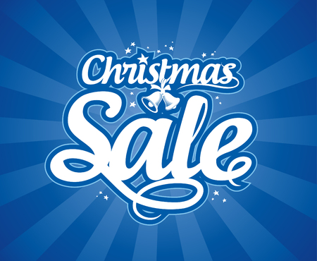Christmas sale design template. Stock Vector - 22300467