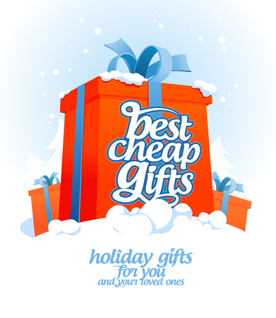 best price: Best cheap gifts design template.