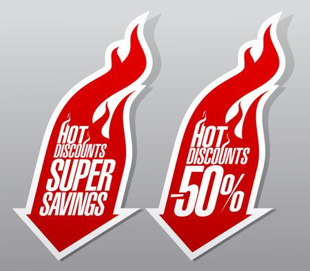 Hot discounts fiery pointers set.