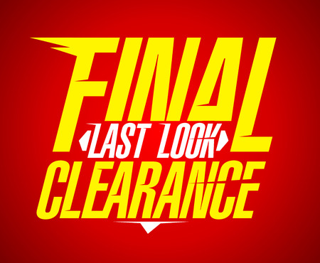 final: Final last look clearance sale design.