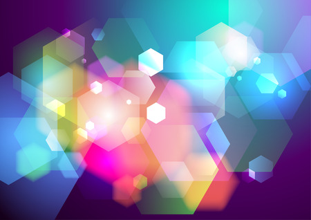 prisma: Prisma luces bokeh de fondo. Eps10.