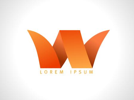 Letter W vector logo Logo
