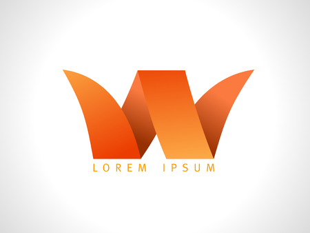 Letter W vector logo