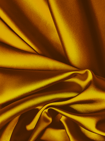 Rich gold silk background with copy space for text Stock Photo