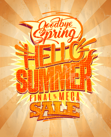 Hello summer, final mega spring sale, new summer collections is coming.