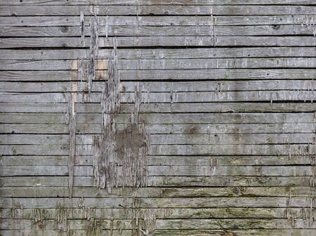 horisontal: Texture of old wood planks from horisontal Stock Photo