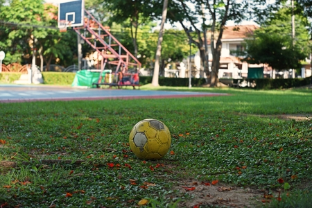 ball on playground