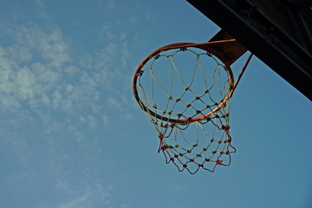 Basketball hoop, outdoor