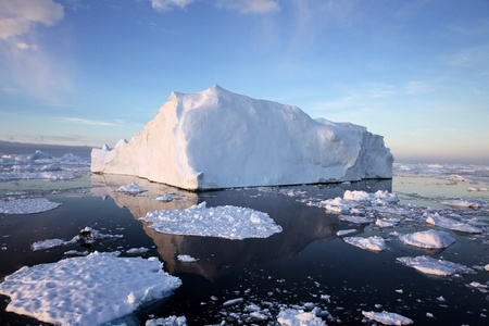 Iceberg in Antarctic Waters photo