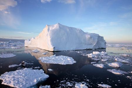 Iceberg in Antarctic Waters Stock fotó - 20941779