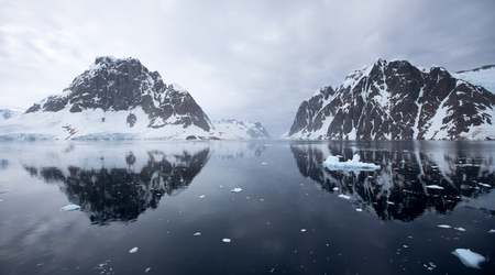 Antarctic Landscape - Lemaire Channel photo