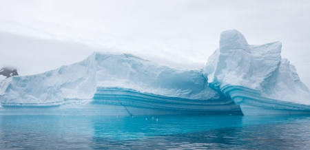 Amazing Icebergs in Antarctica photo